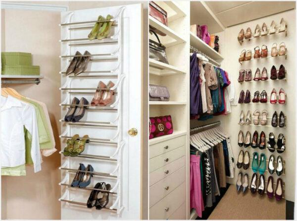 17 стилни и практични идеи за съхранение на обувки